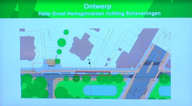 Halte richting Scheveningen